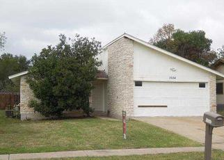Foreclosure Home in Round Rock, TX, 78664,  Provident Ln ID: F2930885
