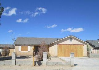 Foreclosure Home in Adelanto, CA, 92301,  AVERY ST ID: F3122133