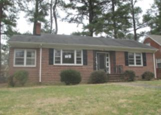 Foreclosure Home in Petersburg, VA, 23805,  NORTHAMPTON RD ID: F3147319