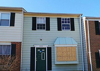 Foreclosure Home in Glen Burnie, MD, 21061,  LAMPLIGHTER RDG ID: F3196454