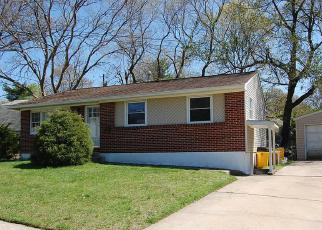 Foreclosure Home in Glen Burnie, MD, 21061,  NEWFIELD RD ID: F3234090