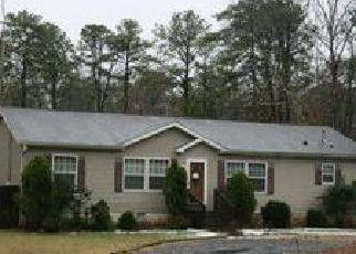 Casa en ejecución hipotecaria in Mays Landing, NJ, 08330,  SCRANTON AVE ID: 6174451