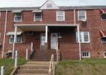 Foreclosed Home en DESOTO RD, Baltimore, MD - 21223
