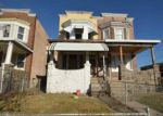 Foreclosed Home in REISTERSTOWN RD, Baltimore, MD - 21215