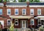 Foreclosed Home in RIDGEWOOD AVE, Baltimore, MD - 21215