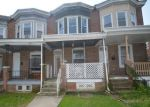 Foreclosed Home in BAKER ST, Baltimore, MD - 21216