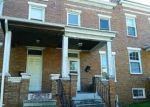 Foreclosed Home in MONTPELIER ST, Baltimore, MD - 21218