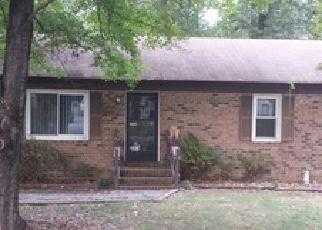 Casa en ejecución hipotecaria in North Chesterfield, VA, 23237,  TROYCOTT PL ID: F3848385