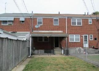 Casa en ejecución hipotecaria in Baltimore Condado, MD ID: F3866513