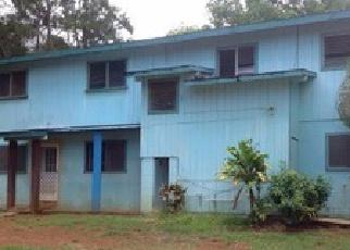 Casa en ejecución hipotecaria in Kapaa, HI, 96746, B MAKAMAKA ST ID: F3914206