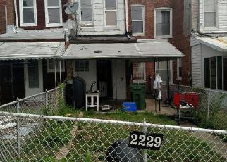 Foreclosure Home in Baltimore, MD, 21216,  RIGGS AVE ID: F3930369