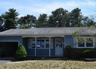 Casa en ejecución hipotecaria in Toms River, NJ, 08757,  MANASSAS DR ID: F3989789