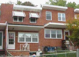 Foreclosure Home in Baltimore, MD, 21230,  MAUDLIN AVE ID: F3990191