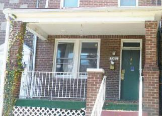 Foreclosure Home in Washington, DC, 20020,  19TH ST SE ID: F4074117