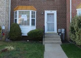 Casa en ejecución hipotecaria in Gaithersburg, MD, 20879,  KNOLL MIST LN ID: F4075205