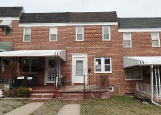 Foreclosure Home in Baltimore, MD, 21216,  WINDSOR AVE ID: F4114818