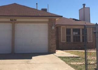 Casa en ejecución hipotecaria in El Paso, TX, 79924,  TIGER EYE DR ID: F4126264