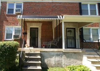 Foreclosure Home in Baltimore, MD, 21212,  SAINT DUNSTANS RD ID: F4131189