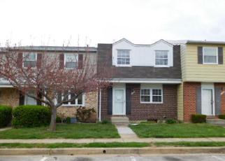 Foreclosure Home in Glen Burnie, MD, 21061,  INGRAM CT ID: F4148459