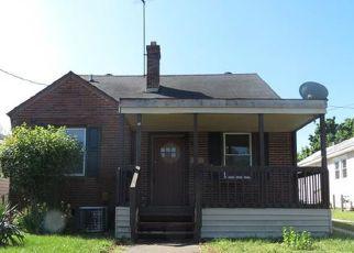 Foreclosure Home in Petersburg, VA, 23803,  W WASHINGTON ST ID: F4149445