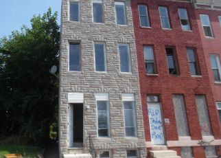 Foreclosure Home in Baltimore, MD, 21223,  W FRANKLIN ST ID: F4159372