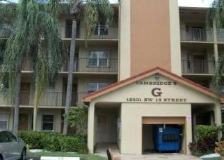 Foreclosure Home in Hollywood, FL, 33027,  SW 13TH ST ID: F4159560