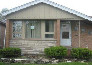 Casa en ejecución hipotecaria in Bellwood, IL, 60104,  FREDERICK AVE ID: F4161152