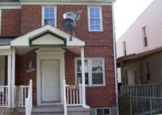 Foreclosure Home in Baltimore, MD, 21223,  WILMINGTON AVE ID: F4161856
