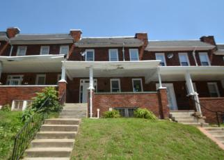 Foreclosure Home in Baltimore, MD, 21216,  BAKER ST ID: F4162132