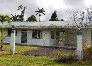 Casa en ejecución hipotecaria in Pahoa, HI, 96778, -2075 PUHALA DR ID: F4199622