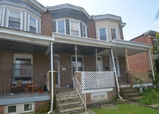 Foreclosure Home in Baltimore, MD, 21216,  BAKER ST ID: F4202945