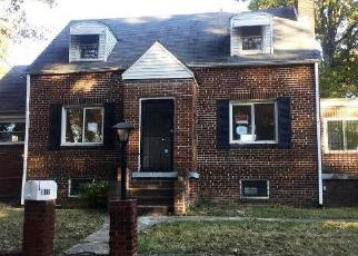Casa en ejecución hipotecaria in Capitol Heights, MD, 20743,  OPUS AVE ID: F4224670