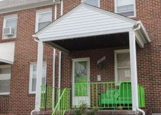 Casa en ejecución hipotecaria in Baltimore, MD, 21213,  N ELLWOOD AVE ID: F4234226