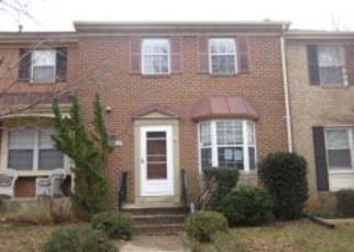 Casa en ejecución hipotecaria in Gaithersburg, MD, 20878,  AMBIANCE DR ID: F4245621
