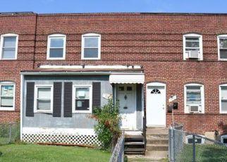 Casa en ejecución hipotecaria in Baltimore, MD, 21224,  52ND ST ID: F4257843