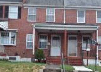 Foreclosure Home in Baltimore, MD, 21224,  CONLEY ST ID: F4259054