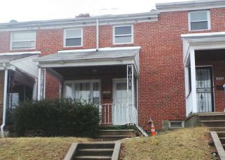 Foreclosure Home in Baltimore, MD, 21229,  BRISBANE RD ID: F4260107