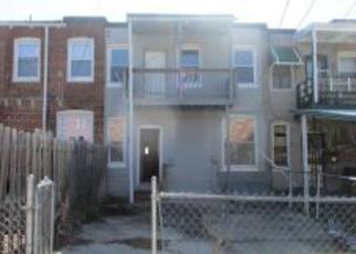 Foreclosure Home in Baltimore, MD, 21218,  GARRETT AVE ID: F4260372