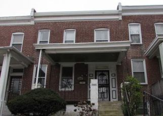 Foreclosure Home in Baltimore, MD, 21216,  PIEDMONT AVE ID: F4260686