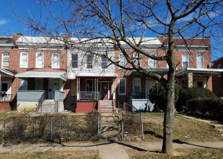 Foreclosure Home in Baltimore, MD, 21215,  W GARRISON AVE ID: F4260720