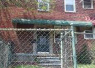 Foreclosure Home in Baltimore, MD, 21224,  ELRINO ST ID: F4273432