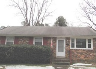 Foreclosure Home in Highland Springs, VA, 23075,  N CEDAR AVE ID: 6272056