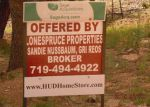 Foreclosed Home in ASPEN RD, Woodland Park, CO - 80863