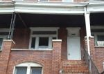 Foreclosed Home in WINCHESTER ST, Baltimore, MD - 21216