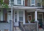 Foreclosed Home en W MOSHER ST, Baltimore, MD - 21216