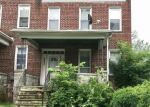 Foreclosed Home in WICHITA AVE, Baltimore, MD - 21215
