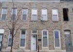 Foreclosed Home en W FAYETTE ST, Baltimore, MD - 21223