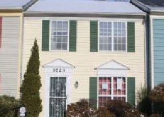 Foreclosure Home in Waldorf, MD, 20602,  KEMPSFORD FIELD PL ID: A1722372