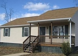 Foreclosed Home en FANNY WHITE RD, Dillwyn, VA - 23936