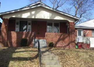 Casa en ejecución hipotecaria in Saint Louis, MO, 63132,  FULLERTON AVE ID: F3673543